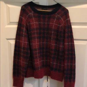 JCrew Plaid Sweater